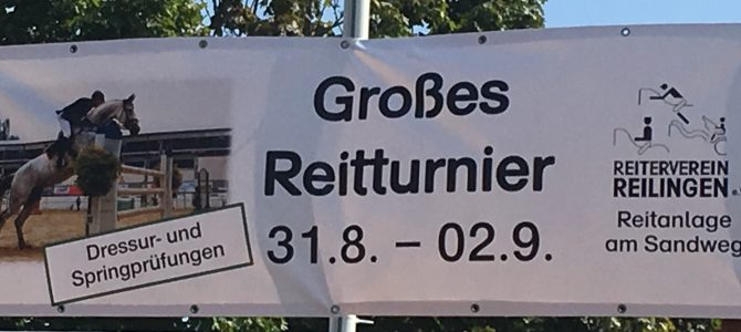 Reitturnier 31. August bis 2. September